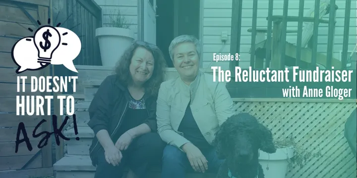 Episode 8 cover art - Cathy Mann and Anne Gloger